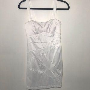 Trick White Grad Dress